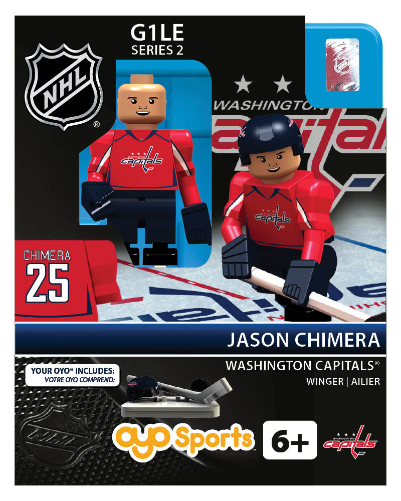 NHL - WAS - Washington Capitals Jason Chimera Home Uniform Limited Edition