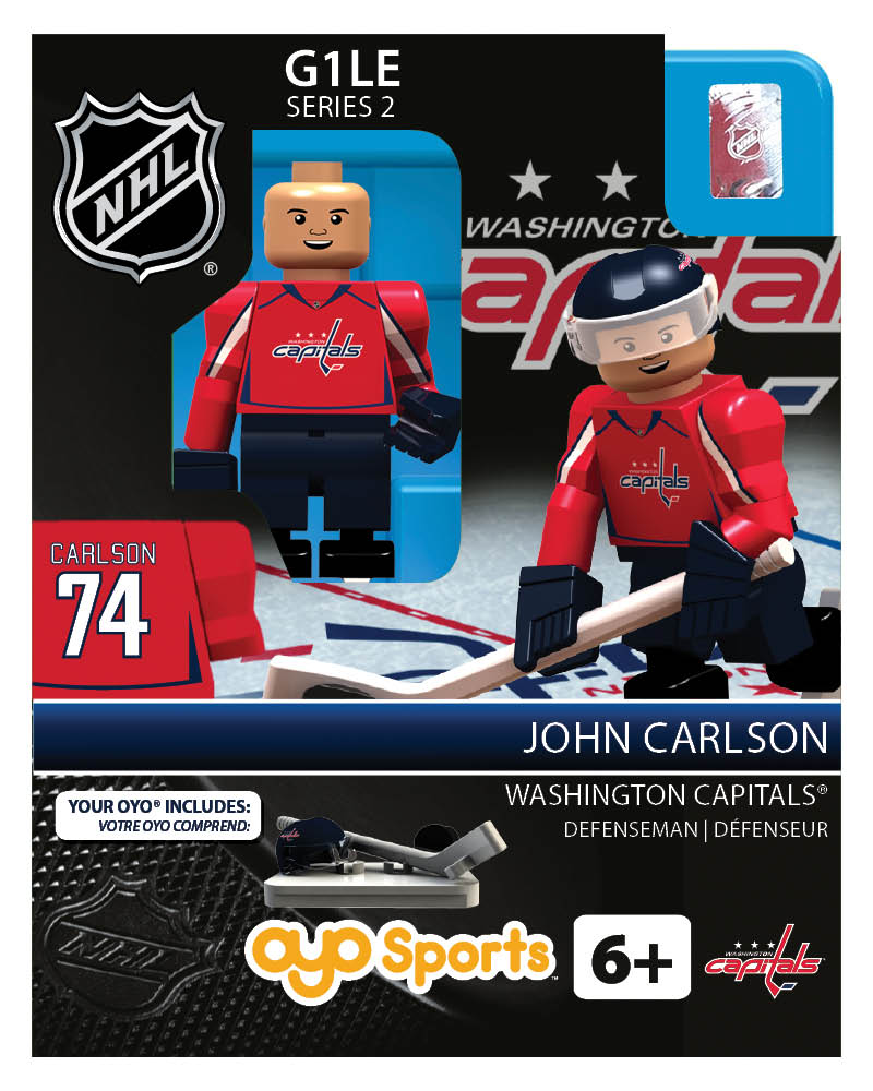NHL - WAS - Washington Capitals John Carlson Home Uniform Limited Edition
