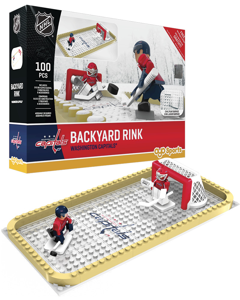 NHL WAS Washington Capitals Backyard Rink Set
