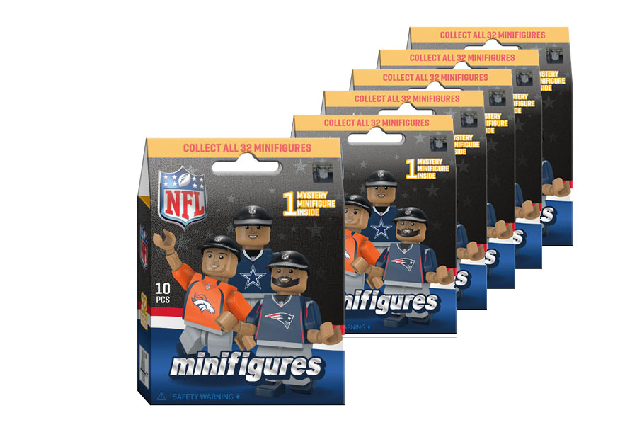 96505992a7b9d NFL Mystery Fun Pack 6 Count