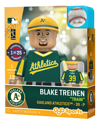 pretty nice 0ce6d 1d807 OYO Sports | Oakland Athletics OYO minifigures & buildables