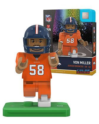 buy popular 3105c a78e9 #58 Von Miller Denver Broncos Color Rush Uniform