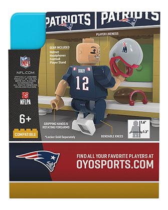 best service cae45 56853 #12 Tom Brady New England Patriots Color Rush Minifigure