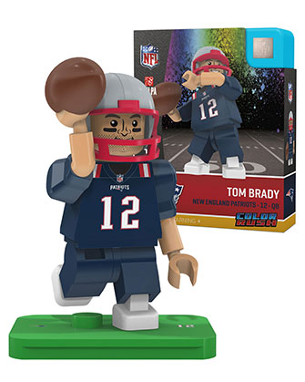 best service 8db22 988bf #12 Tom Brady New England Patriots Color Rush Minifigure