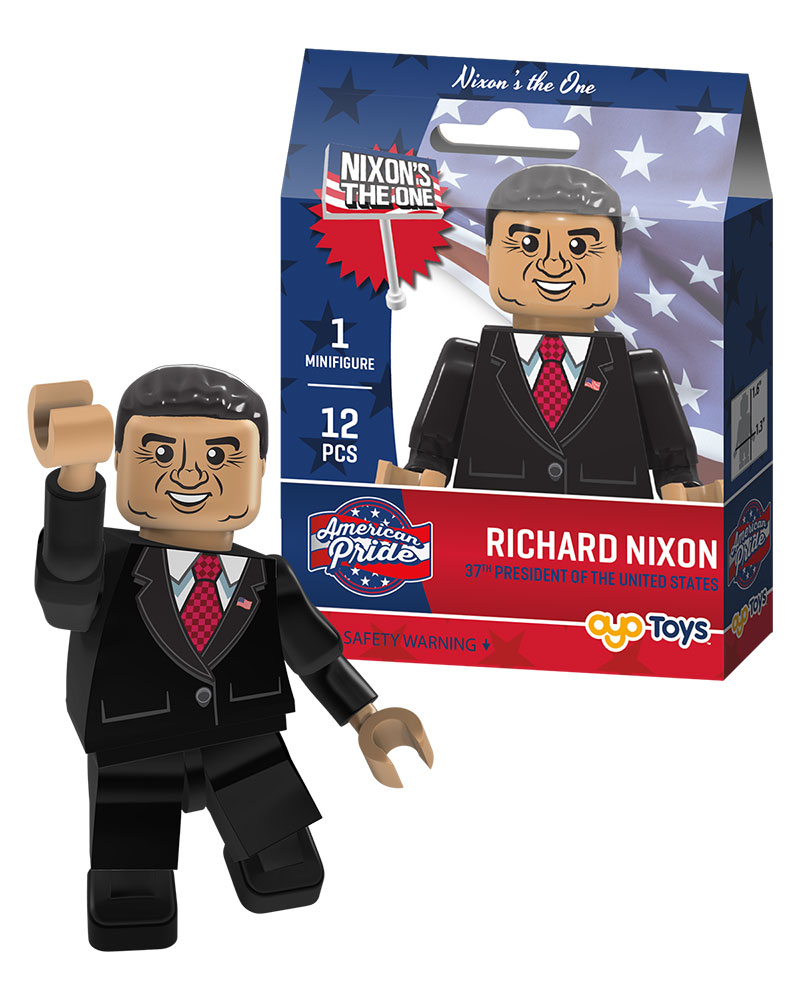 President Richard Nixon Oyo Toys American Pride Buildables And Minifigures