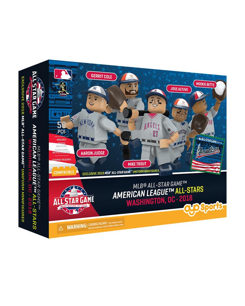 2018 All Star American League 58 pc Collector's Set Betts, Cole, Altuve,  Trout, Judge