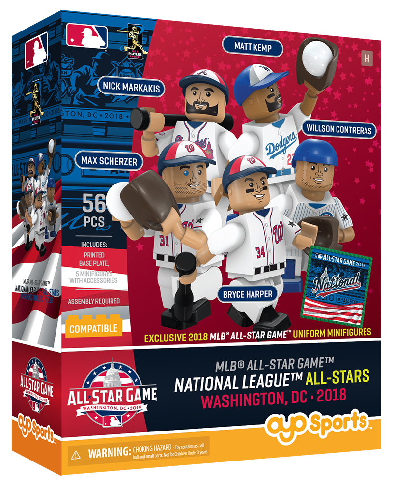 1e6f7a29c44 2018 MLB All Star Game NL Collector Set