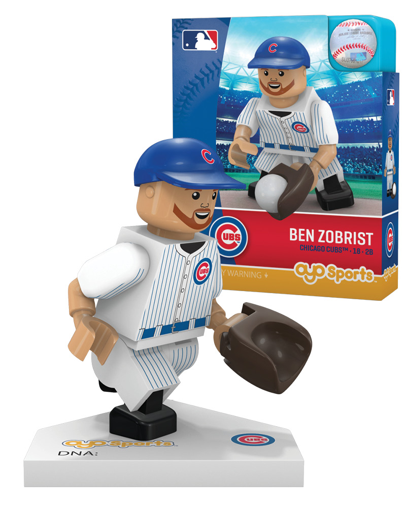 detailed look f61d2 82adf #18 Ben Zobrist Chicago Cubs Second Baseman