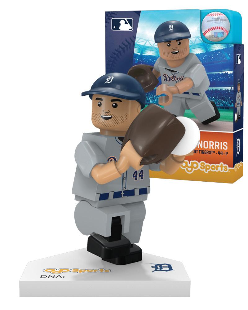 f08a00cc Daniel Norris: Detroit Tigers   OYO Sports   MLB Minifigures & Buildables