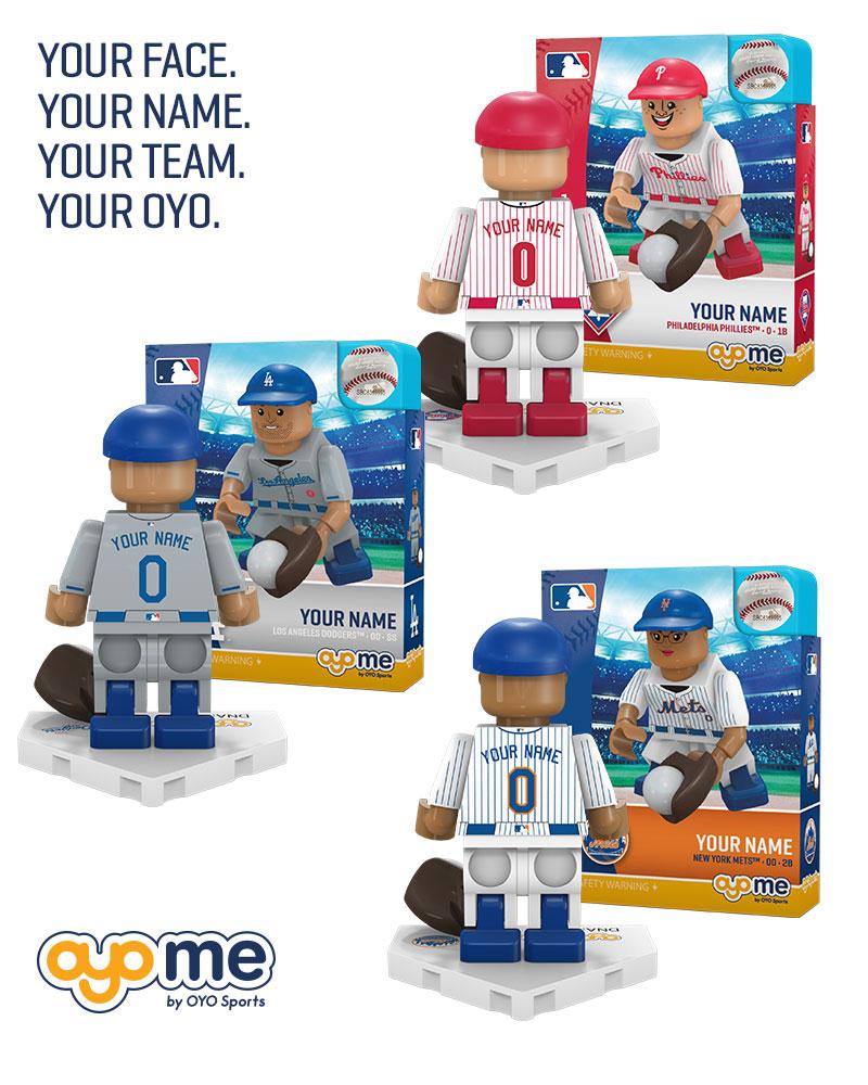 Personalized OYO Baseball Minifigure b993b3872