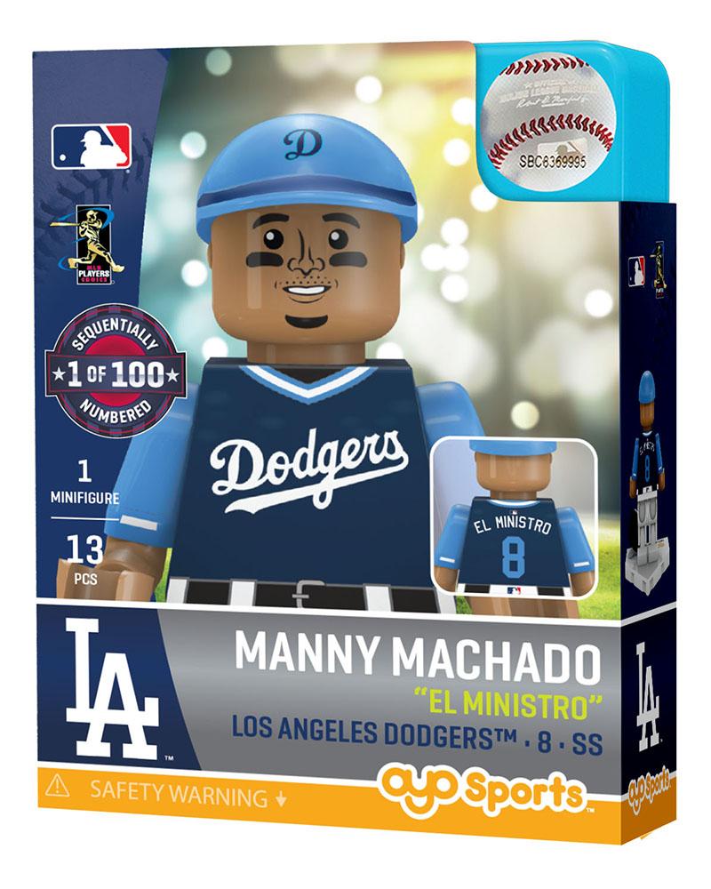 ad1f384dffd4e2 Manny Machado : Los Angeles Dodgers| OYO Sports | MLB Minifigures &  Buildables