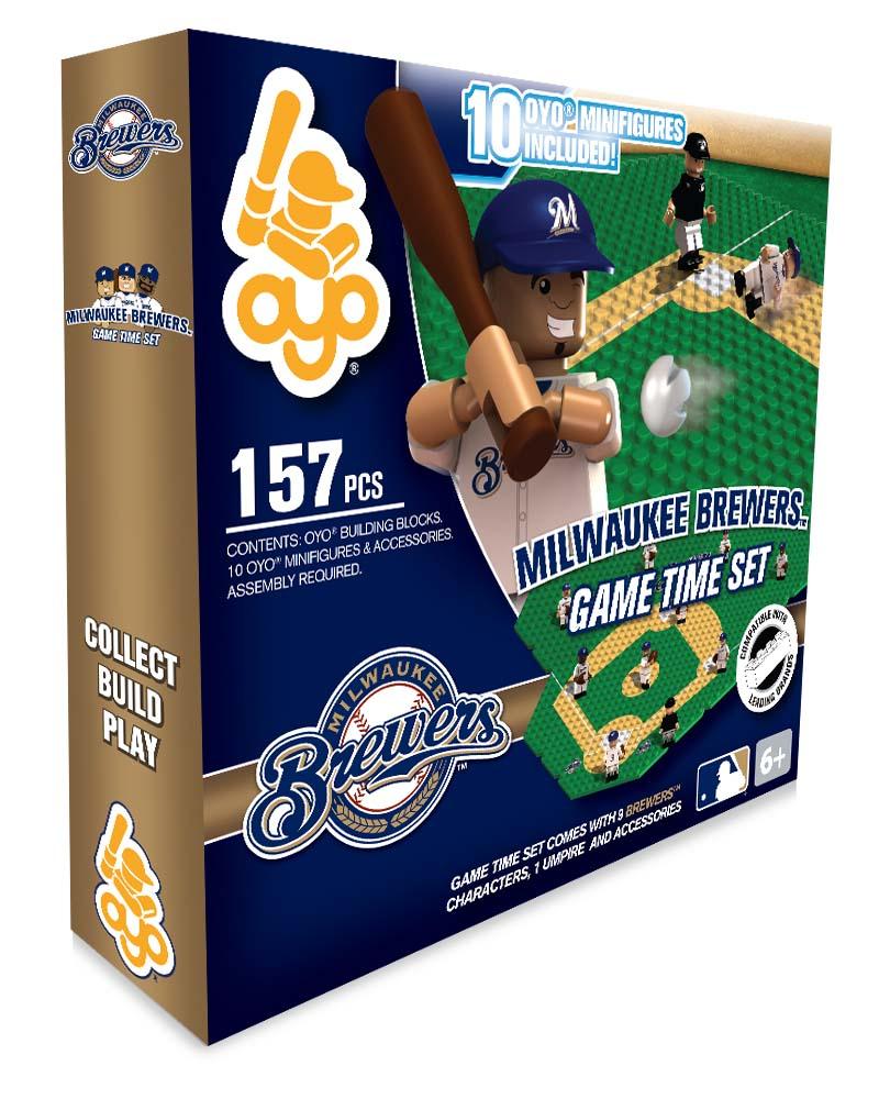 Oyo Sports Milwaukee Brewers Field Sets