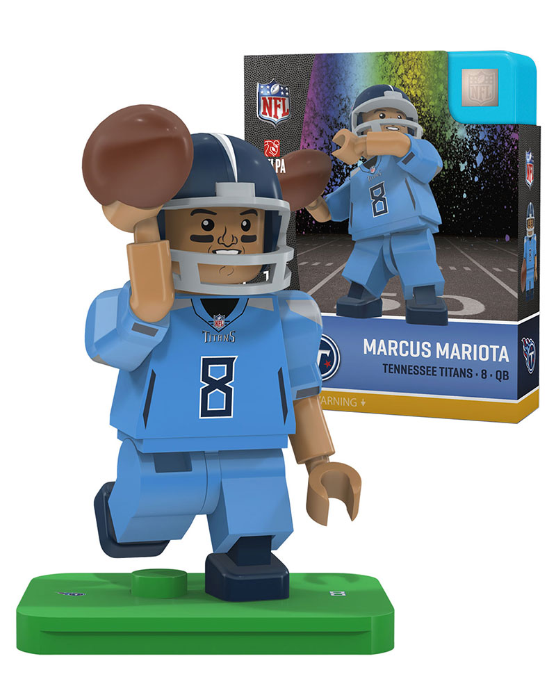 on sale 98d04 6629b #8 Marcus Mariota Tennessee Titans Color Rush