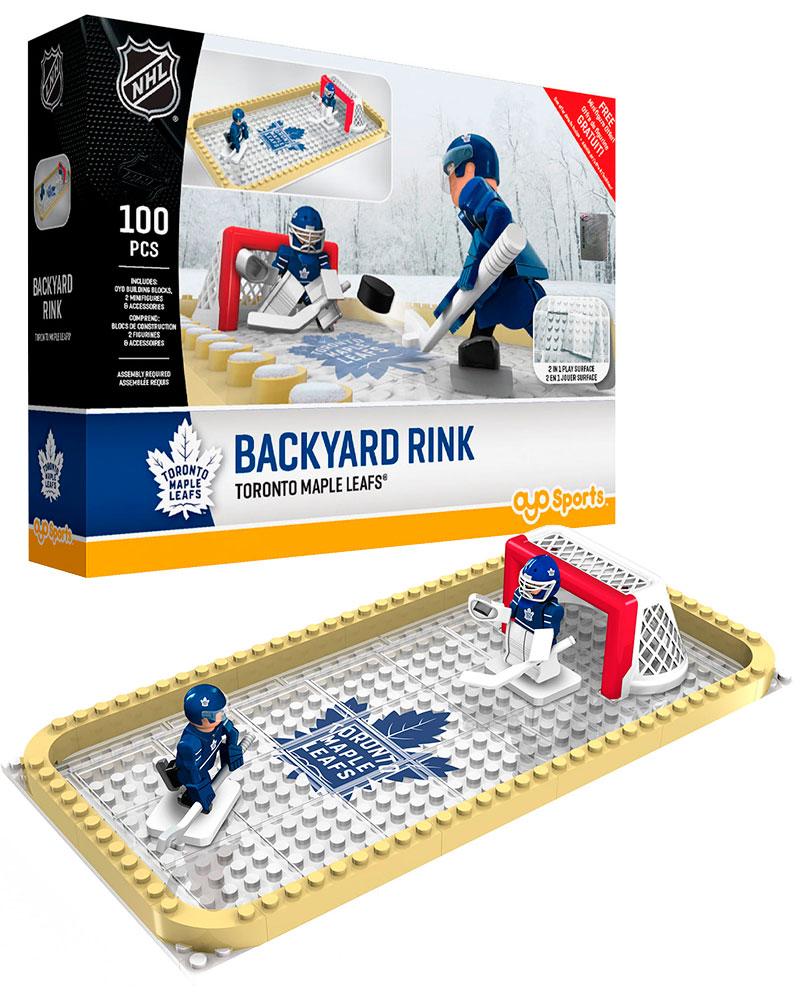 Backyard Rink : Toronto Maple Leafs