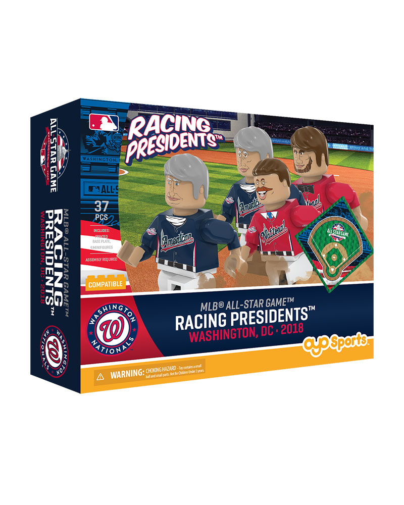 2018 Mlb All Star Game Presidents Race Collector Set